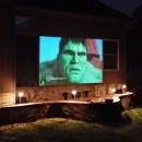 Our Newest Backyard Theater